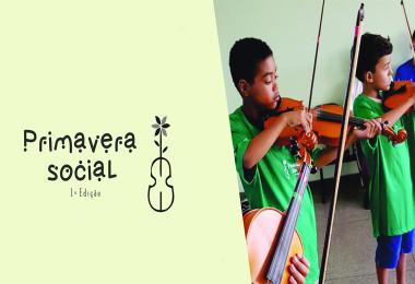 Concerto inaugura Projeto Primavera Social - Notícias - Arquidiocese de Goiânia